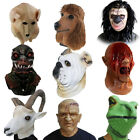 Deluxe Halloween Costume Horror Animal Head Realistic Latex Mask Cosplay Party