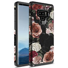 For Samsung Galaxy Note 9 Hybrid Graphic Fashion Case W/ 3D PET Screen Protector