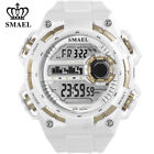 SMAEL Sport Watch for Men Large Dial LED Watches Digital Electronic Wristwatch image