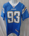 San Diego Chargers NFL Castillo Replica Sewn Football Jersey Light Blue #93 $19.99 USD on eBay