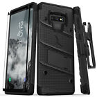 Samsung Galaxy Note 9 case, Zizo BOLT with Screen Protector, Holster & Kickstand