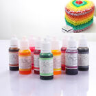 macarons food - 10 Color Macaron Cake Food Coloring Decor Baking Paint Set Pastry Tools 15ml New