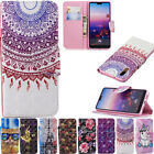Magnetic Flip stand Card Leather wallet+TPU Case Cover For Huawei Y7 Sony Phone