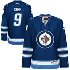 Reebok Evander Kane Winnipeg Jets Womens Navy Blue Premier Player Jersey