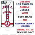 LOS ANGELES ANGELS PHONE CASE COVER WITH NAME&No. FOR iPHONE SAMSUNG LG MOTOetc $21.98 USD on eBay