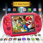 4.3'' Portable 8gb Handheld Psp Game Console Player Built-in 100 Games Kid Gift