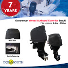 Oceansouth Outboard Motor Vented / Running Cover for Suzuki