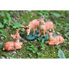 Fairy Garden Supplies Mini Deer Statue for Home Ornaments Miniature Figurine