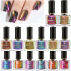 6ml BORN PRETTY 3D Cateye Nail Polish Holographic Magnetic 2 in 1 Base Top coat