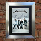 #39 METALLICA A5 Signed Reproduction Autograph Mounted Print