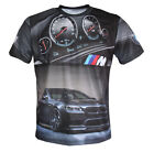 BMW M5 F10 M Power logos and graphics men's t-shirt