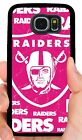 OAKLAND RAIDERS PINK PHONE CASE FOR SAMSUNG NOTE & GALAXY S4 S5 S6 S7 EDGE S8 S9 $15.88 USD on eBay