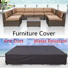 Waterproof Outdoor Furniture Covers Garden Patio Sofa Wicker Rattan Rain Cover /