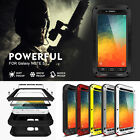 LOVE MEI SSHOCKPROOF DUEL HARD CASE COVER + TEMPERED GLASS FOR MOBILE PHONES