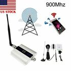 ON Sale 900MHz Mobile Phone Signal Booster CDMA GSM Repeater + Antennas LOT MA