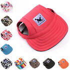 SUPER SALE S Small RED LETTERS Dog Puppy Sun Baseball Hats Caps Visors