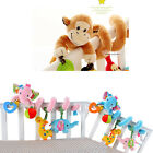 Cute Activity Spiral Crib Stroller Bed Car Seat Travel Hanging Toys Baby Rattles