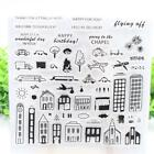 11Styles Silicone Clear Transparent Stamp Seal Card Scrapbooking Craft DIY-w