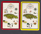JAMICA WEST INDIES DBLE DECK  - Deck of Playing Cards