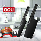 OOU 3pcs Chopping Knife Chef Knife Fruit +Knife Sharpener Stainless Steel Carbon