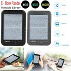 E-book Reader E-reader 6 Inch E-ink Screen MP3 Player with Turn Page Buttons SP