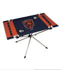 NFL Team Football Tailgating BBQ Grill Logo Grilling Gift End Zone Folding Table