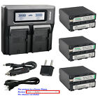 Kastar Battery Quick Charger for Sony NP-F990 & CCD-TR810 CCD-TR818 CCD-TR840