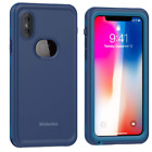 Mishcdea for iPhone X Waterproof Case Built in Screen Protector Shockproof