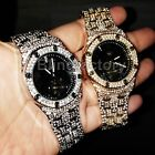 Luxury MIGOS Iced out Rapper's Lab Diamond Metal Band Dress Clubbing wrist Watch image