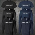 Triumph Motorcycles Logo Retro Classic Motorcycle T-shirt Hoodie Sweatshirt $23.00 USD on eBay