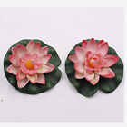 Artificial Wreaths Lotus Plant Ornament Home Garden Decoration Floating Flowers