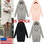 Women Lady Winter long Sleeve Casual Loose Knitted Sweater Jumper Coat Tops BJ