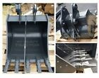 "NEW 24"" KOMATSU PC55MR-3 HD MINI EXCAVATOR BUCKET W/ ESCO SUPER V TEETH"
