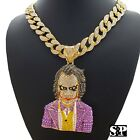 Hip Hop Large JOKER Pendant & 18