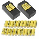 LOT 20-200 Rechargeable Batteries Kit for Netgear Arlo Security Camera CR123A