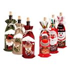 Внешний вид - Xmas Wine Bottle Bag Cover Merry Christmas Dinner Santa Claus Home Table Supply