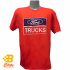 Bright Red Ford Truck Tee Shirt Ready For Mud, Sun, And Fun GEAR HEADZ PRODUCTS