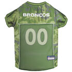 Denver Broncos NFL Pets First Licensed Dog Pet Mesh CAMO Jersey XS-XL NWT $33.96 USD on eBay