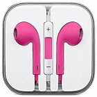 Colored Earphones headphones for apple IPhones 6/5/4 and Samsung W/Remote & Mic