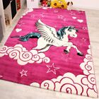 Kids Carpet The Little Unicorn Children Room Carpets In Pink Cream Turquoise