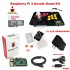 Raspberry Pi 3 Model B Heatsink Case 32g Joystick Arcade Game Kit G3003