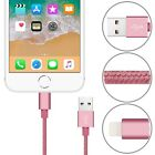 Strong Fast Charger Long Braided USB Data Sync Charging Cable For iPhone SE iPad