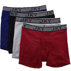 JKY by Jockey Mens Athletic Sport Performance Microfiber Boxer Briefs Underwear