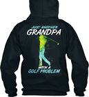 Another Golf Grandpa - Just With A Problem Standard College Hoodie