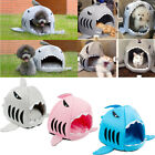 Pet Dog House Bed Shark Shape Soft Cotton Warm Kitten Puppy Bed High Quality