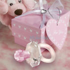 Crystal Pacifier Girl Boy Baby Shower Christening Wedding Party Favor Gift Dummy