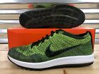 Nike Flyknit Racer Golf Shoes Volt Black White Sequoia Green SZ 14 (909756-700)