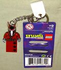 Lego SPLINTER KEYCHAIN TMNT Teenage Mutant Nija Turtles