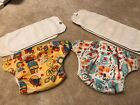 Bum genius HTF One Size Pocket Cloth Diaper Lot Of 2. Spence Louis