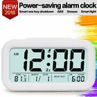 Digital Alarm Clock Student Clock Large LCD Display Snooze Electronic Office